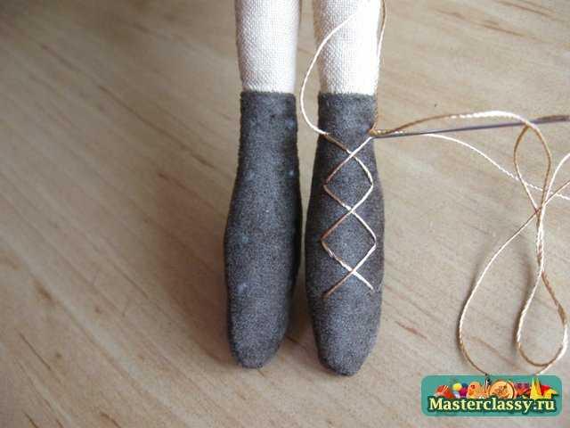 Обувь для тильды мастер класс