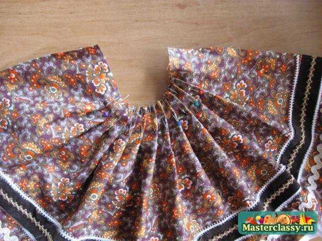 Как сшить многослойные юбки тильдам