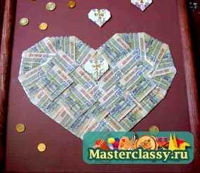 Подарки своими руками из денег фото