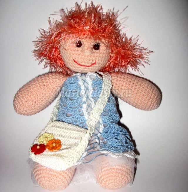 Вязаная куколка крючком. Мастер класс с пошаговыми фото