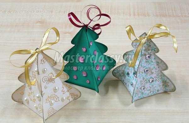 Новогодние оригами из бумаги своими руками схемы