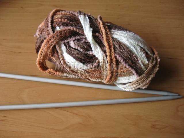 Вязания шарфика на 1 год
