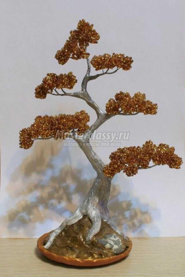 Делаем денежное дерево своими руками