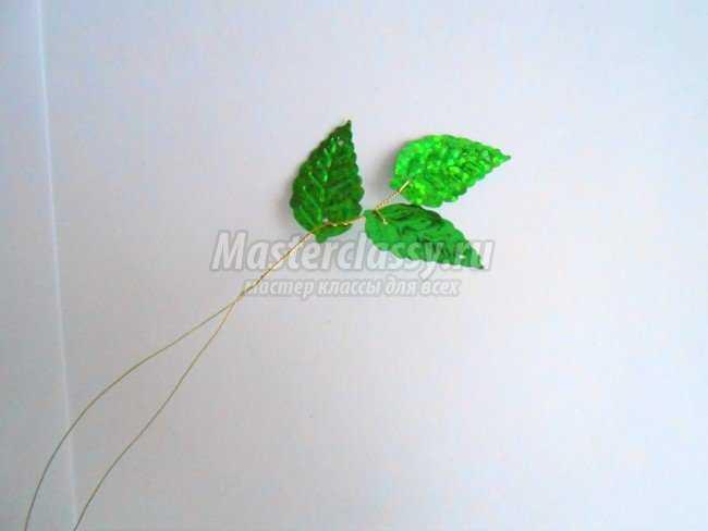 Листья для деревьев своими руками 151