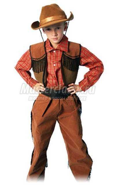 Карнавальный костюм для мальчика. Ковбой