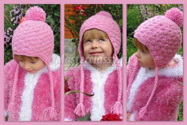 шапочки для девочки данной