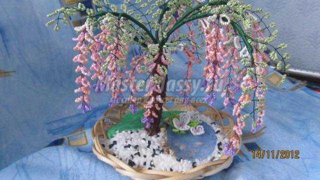 дерево глициния из бисера мастер класс фото - Практическая схемотехника.