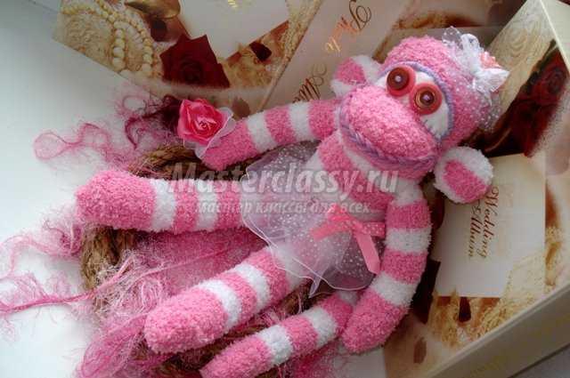 Поделки обезьянки своими руками из носков
