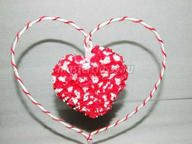 Подарки на 14 февраля своими руками. Сердце