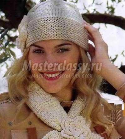 косое вязание: в каждом