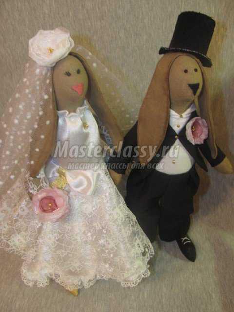 Свадебные зайцы Тильда