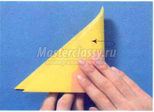 оригами. Улитка кататасумури