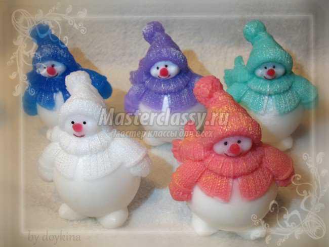 Как сшить снеговика своими руками мастер класс