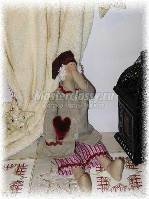 Кукла Тильда - сонный Ангел
