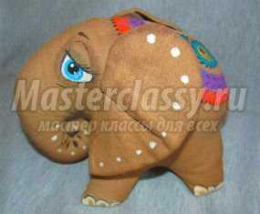 Валяние – слоник клубничка. Мастер класс с пошаговыми фото