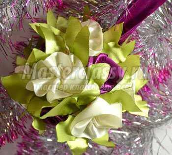 Цветы своими руками из гофробумаги