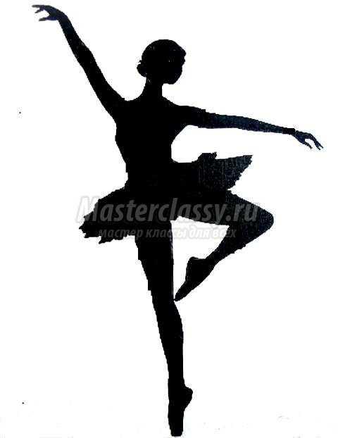 Как сделать новогоднюю балерину из бумаги своими