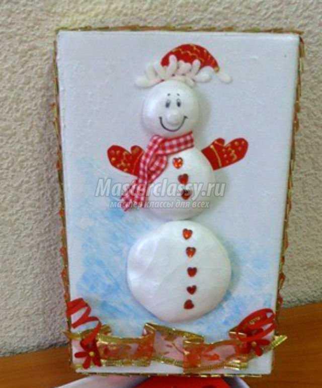 Колпак для снеговика из бумаги своими руками