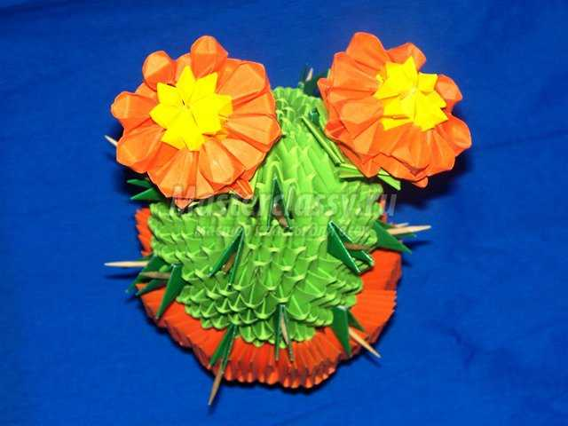 Модульно оригами – Цветущий