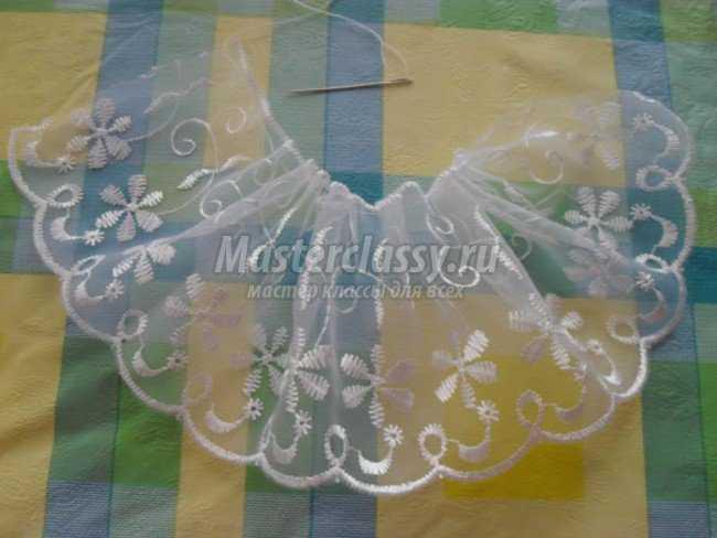 Сделать сам своими руками ангела из ткани