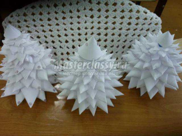Как сделать елку из бумаги пошаговое фото