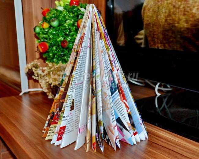 Поделки из журналов своими руками фото