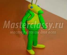 Лунтик вязанный пошагово