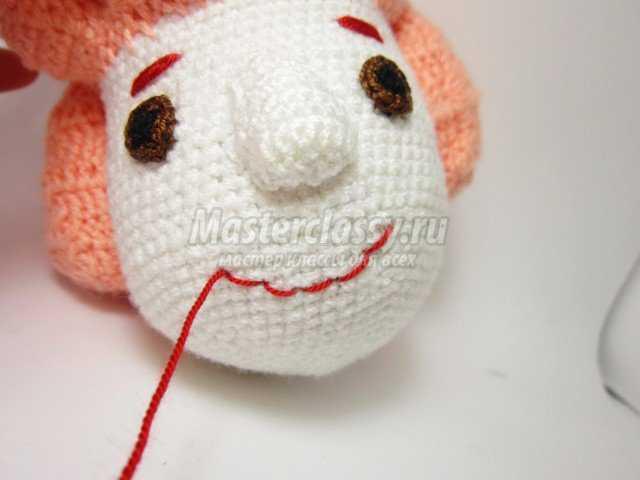 Вязание Симки из фиксиков