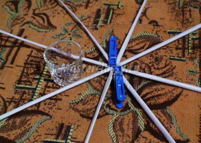 Газетное плетение новый год