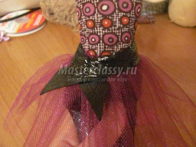 Текстильная кукла своими руками. Лиза