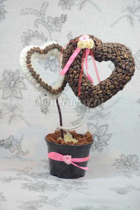 Кофейное дерево - сердце