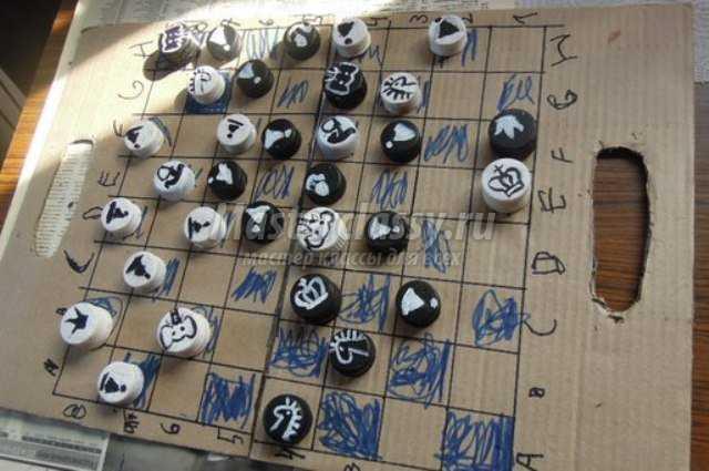Доска для шахмат своими руками