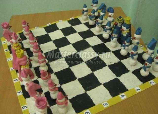 Шахматы своими руками. Идеи