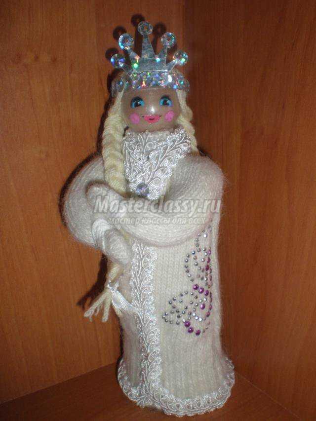 дед Мороз из перчаток.