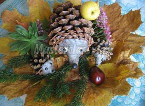 Осенние поделки для детского сада своими руками