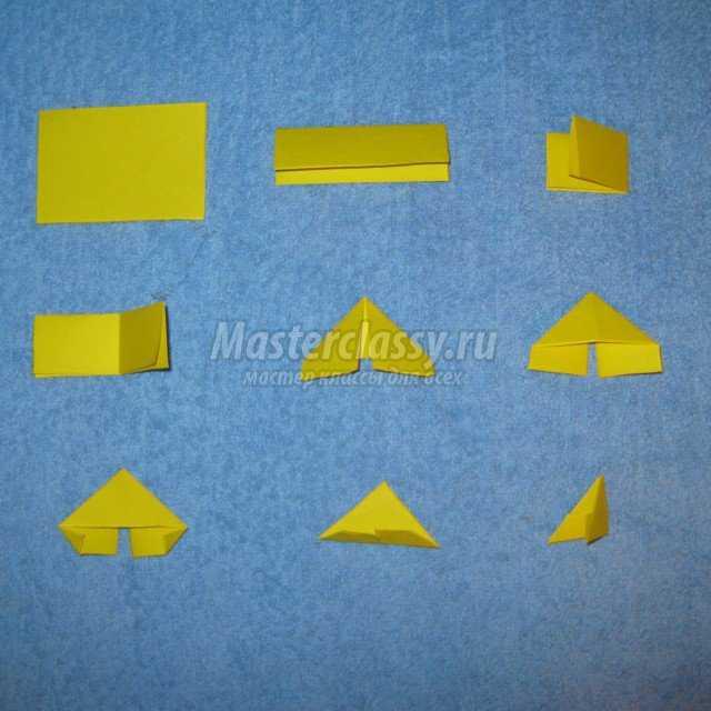 Модульное оригами. Паровоз