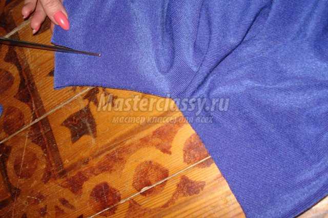 Кофта летучая мышь своими руками