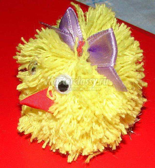 мягкая игрушка цыпленок из