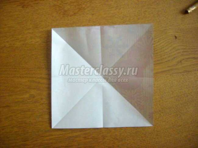 Картинки оригами из бумаги новогодний шарик