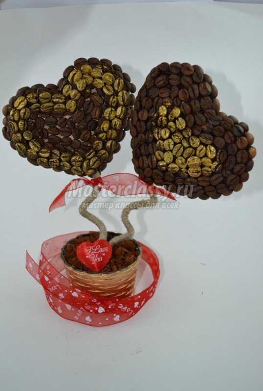Кофейное дерево сделано своими руками фото 951