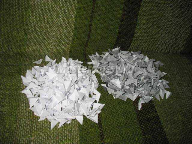 модульное оригами. Ослик ИА