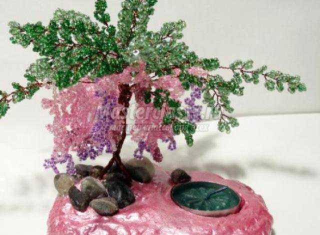Деревья из бисера. Мастер класс