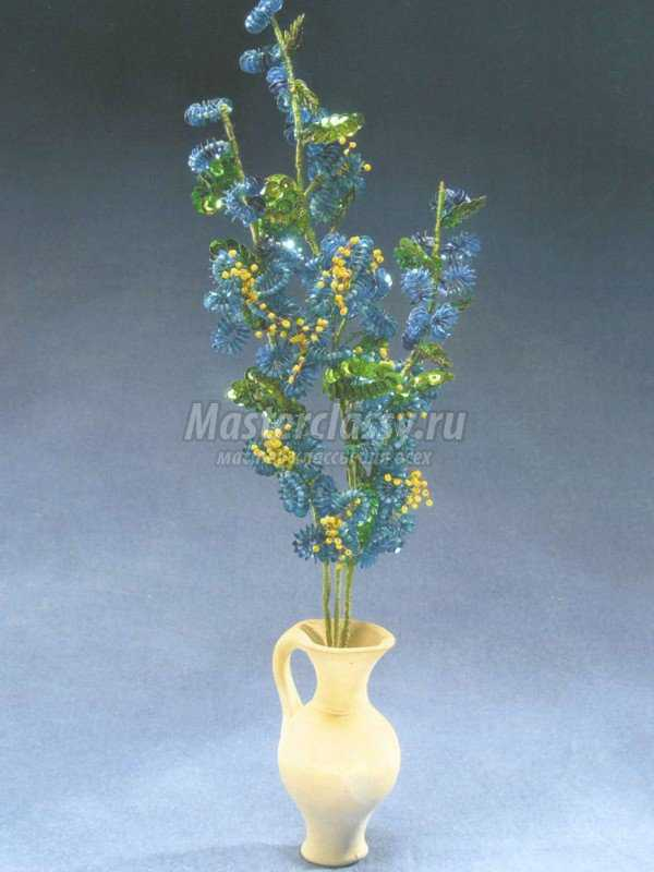 полевой цветок схема