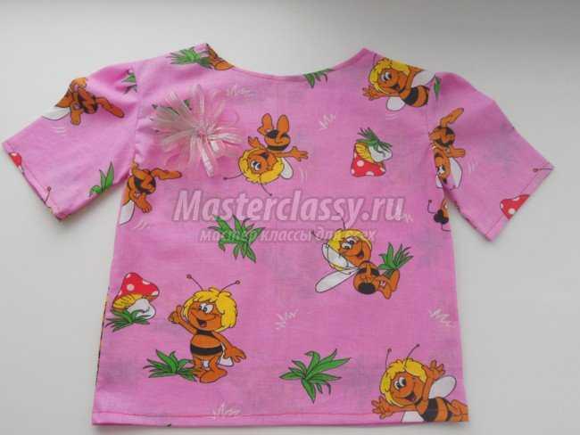 Детская футболка из хлопка своими руками 81