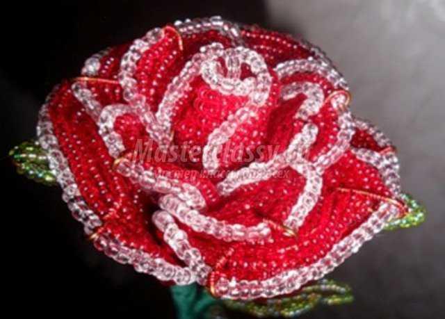 Для изготовления розы понадобится