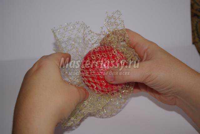 Елочные шары своими руками с пошаговое