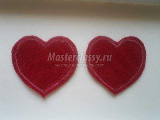 Сердечки к дню валентина мастер класс
