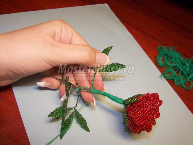 соединяем между собой в куст, который помещаем в горшочек. розы.  Готовые.