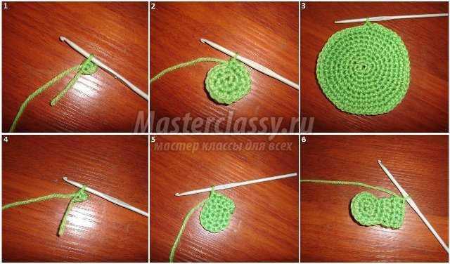 Как связать игрушку крючком пошагово