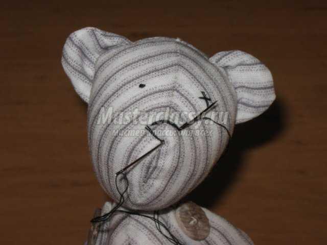 Мишка тильда своими руками мастер